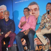 Anu Kapoor interacts with the audience at the Trailer Launch of Dharam Sankat Mein
