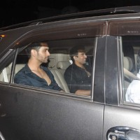 Angad Bedi and Zaheer Khan were Snapped at Bandra