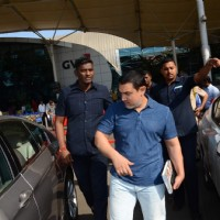 Aamir Khan was snapped at Airport