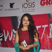 Giaa Manek poses for the media at GR8 Beti Bash