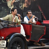 Sushant Singh Rajput and Dibakar Banerjee interact with the audience at the Second Trailer Launch