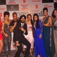 Team poses for the media at the Music Launch of Dilliwaali Zaalim Girlfriend