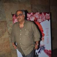 Boney Kapoor poses for the media at the Special Screening of In Their Shoes