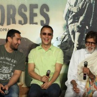Celebs share a laugh at the Trailer Launch of Broken Horses