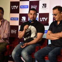 Aamir Khan interacts with the audience at the DVD Launch of P.K.