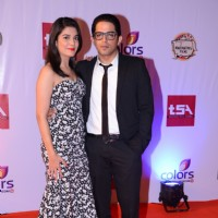 Raj Singh Arora and Pooja Gor at the Television Style Awards