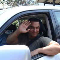 Aamir Khan at his 50th Birthday Bash in Lonavla