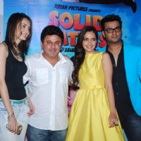 Team poses for the media at the Press Meet of Solid Patels