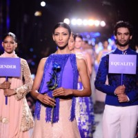 Manish Malhotra's Unique show at the Lakme Fashion Week 2015 Day 1