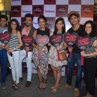 Celebs pose for the media at the Special Screening of Yeh Hai Aashiqui's Last Episode