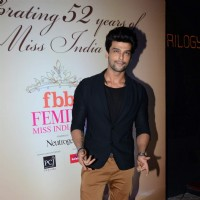 Kushal Tandon poses for the media at Femina Miss India 2015 Bash