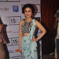 Ragini Khanna poses for the media at Lakme Fashion Week 2015 Day 3