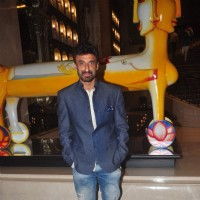 Rahul Dev poses for the media at Lakme Fashion Week 2015 Day 3