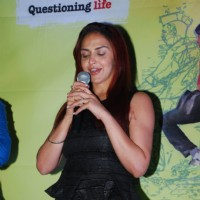 Esha Deol addresses the Trailer Launch of Barefoot To Goa