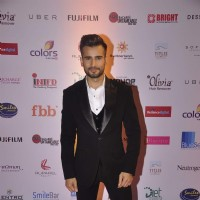 Karan Tacker poses for the media at Femina Miss India Finals Red Carpet