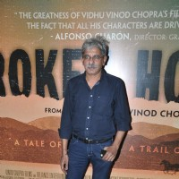 Sriram Raghavan poses for the media at the Special Screening of Broken Horses