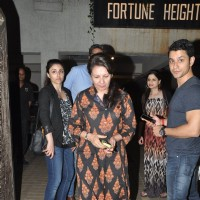 Kunal Khemu, Soha Ali Khan and Sharmila Tagore snapped at Saif Ali Khan's Bash