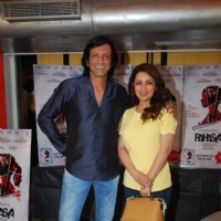 Kay Kay Menon and Tisca Chopra pose for the media at the DVD Launch of Rahasya