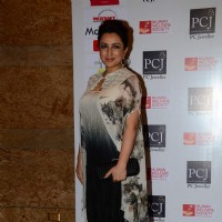 Tisca Chopra poses for the media at the Red Carpet of 'Mijwan-The Legacy'