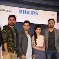 Rannvijay, Soha Ali Khan, Kunal Khemu and Atul Kasbekar at the Launch of the Latest 4K Ultra HD TV