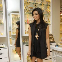 Roshni Chopra poses for the media at Minerali Store