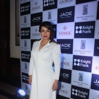 Tisca Chopra at a Show by Anmol Jewellers