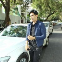 Manish Malhotra at Protest Against the BMC