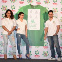 Masaba Gupta, Kunal Khemu and Soha at Launch of India's First Gender Neutral Wash Care Labels