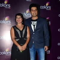 Shakti Anand and Sai Deodhar at Color's Party