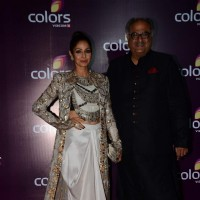 Sridevi and Boney Kapoor at Color's Party