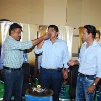 Anup Soni with Crime Patrol Team at  Success Bash