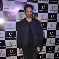 Luv Sinha poses for the media at Videocon Bash