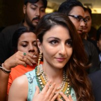 Soha Ali Khan at Launch of  Sunar Jewellery Shop in New Delhi