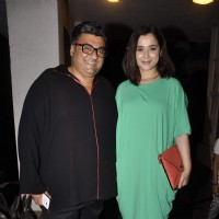 Simone Singh with her husband attend the Play 'Unfaithfully Yours'