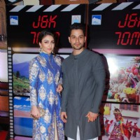 Cute Couple Soha and Kunal at J & K Bash
