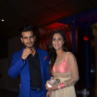 Karan Tacker and Krystle Dsouza at Karan Patel and Ankita's Sangeet Ceremony
