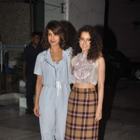 Priyanka and Kangana Pose Together at the Party for Winning National Awards