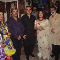 Abhijeet Inaugurates Art Gallery