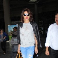 Priyanka Chopra Returns from NY