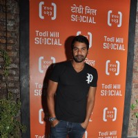 Shabbir Ahluwalia at Launch of Todi Mill Social