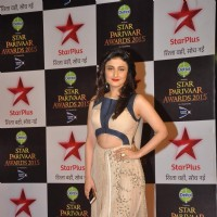 Ragini Khanna poses for the media at Star Parivaar Awards 2015