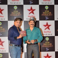 J D Majethia at Star Parivaar Awards 2015