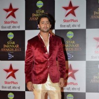 Shaheer Sheikh at Star Parivaar Awards 2015