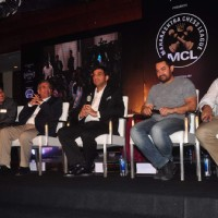 Vishwanathan Anand and Aamir Khan at Inauguration Ceremony Of Maharashtra Chess League