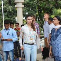 Prachi Desai Snapped at Airport