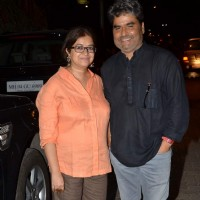 Vishal Bharadwaj and Rekha Bhardwaj at Mukesh Chhabra's Birthday Bash