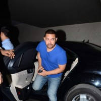 Aamir Khan at Special Screening of Dil Dhadakne Do