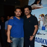 Aamir Khan and Anil Kapoor at Special Screening of Dil Dhadakne Do