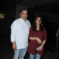 Vishal Bharadwaj and Rekha Bhardwaj at Special Screening of Dil Dhadakne Do