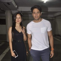 Gaurav Khanna and Pooja Banerjee at Munisha Khatwani's Debut Play